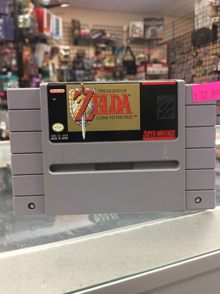 Super Nintendo SNES Zelda A Link To The Past
