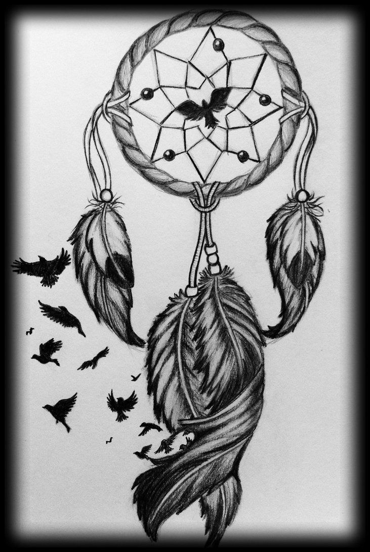 freebies feeling generous here is a dream catcher tattoo design with stencil that i am. Black Bedroom Furniture Sets. Home Design Ideas