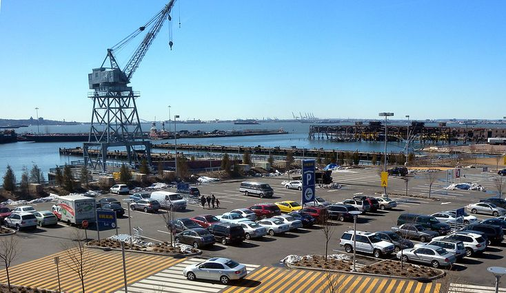 Erie Basin mouth from Ikea: Red Hook, Brooklyn