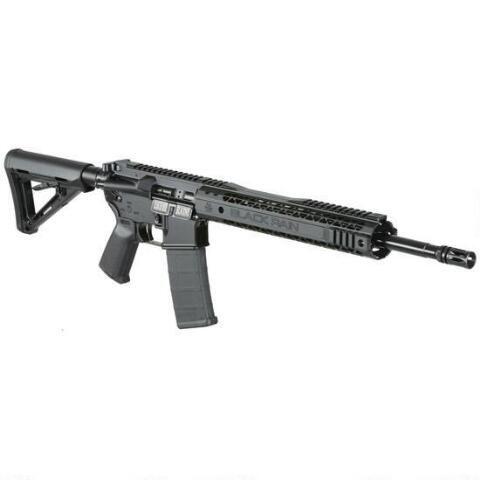 "Black Rain BRO SPEC15 5.56 NATO AR15 Semi Automatic Rifle 10 Rounds 16"" Barrel Magpul Furniture Black - BROSPEC15 - 019962457760"