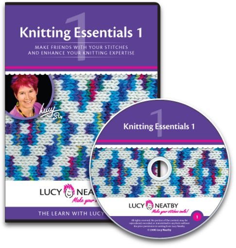 Knitting Essentials 1  contains vital information for knitters: control your cast-ons, innovative bind-off methods, make increases and decreases in more than one way, apply finishing basics, pick up tips on reading your knitting, and discover the secrets of contented stitches.