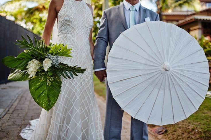 Momentos antes da entrada da noiva - Destination Wedding
