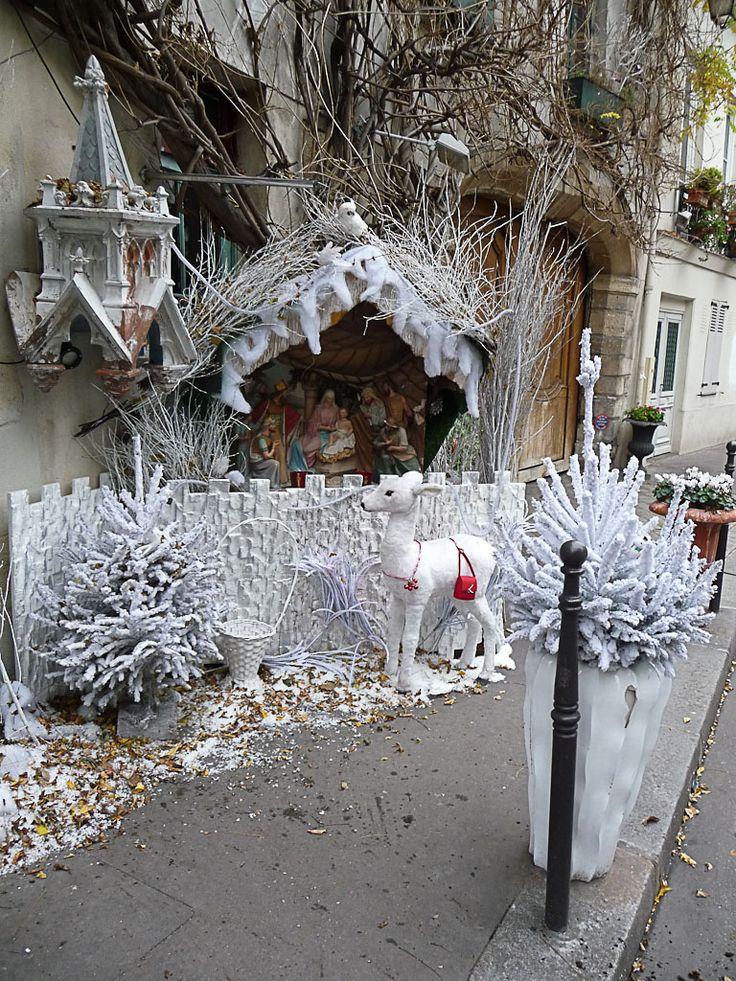 La crèche de l'auberge Au Vieux Paris d'Arcole (Paris 4e) http