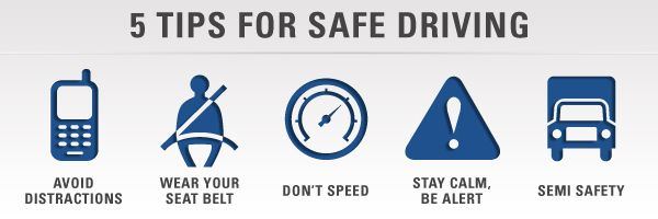 Tips for Safe #Driving