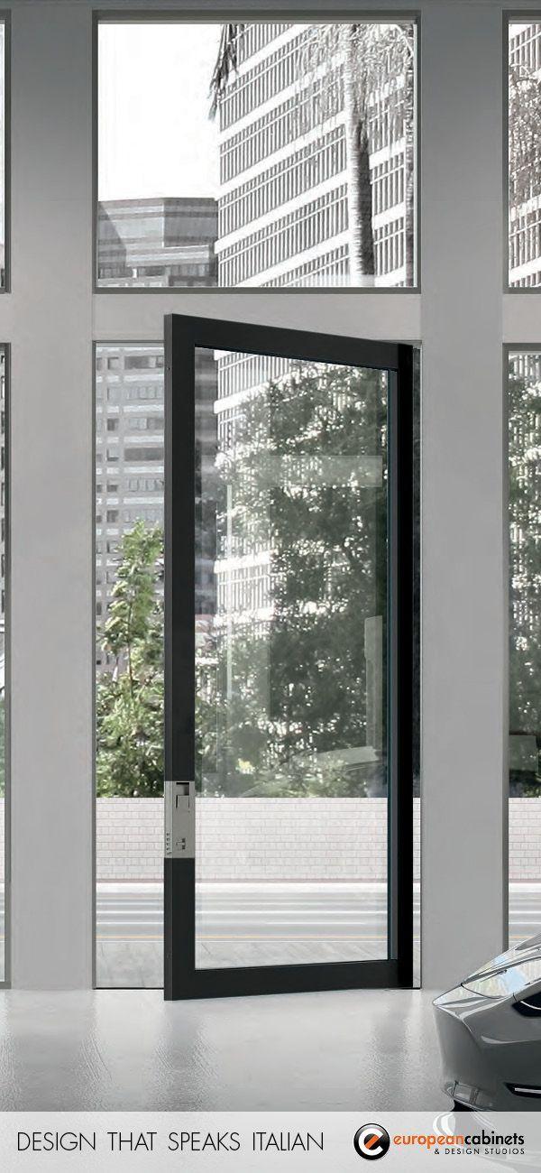 Nova Modern Glass Front Doors European Cabinets Design Studios