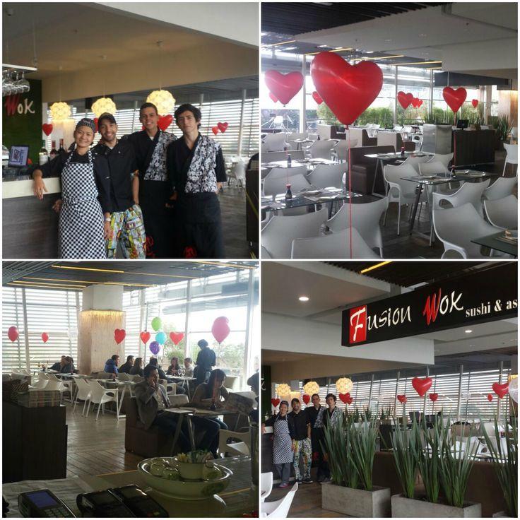 Fusion Wok Hayuelos. Centro Comercial Hayuelos.Terraza de comidas 3er piso Local 351.Calle 20 No. 82 - 52. Teléfonos:(1)300 2797/3003285. #bogota #colombia #asianfood #fusionwok #restaurant