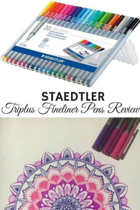 An honest review of Staedtler Triplus Fineliner Pens. Find out if these pens are right for your doodling or bullet journal needs.