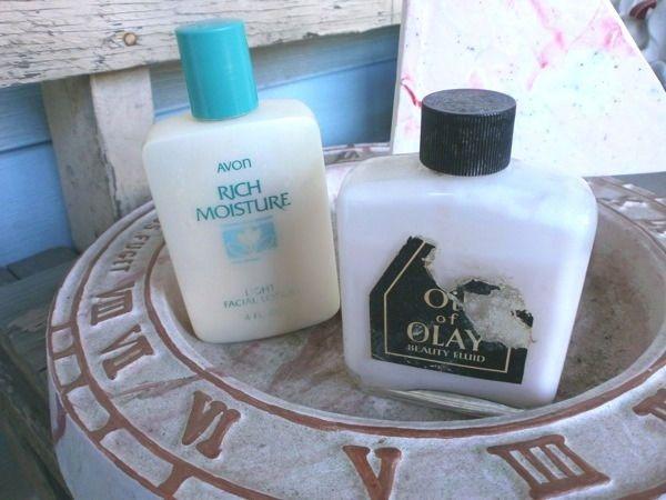 ORIGINAL OIL OF OLAY BEAUTY FLUID (1977) PLUS AVON RICH MOISTURE FACIAL LTN. in Health & Beauty, Skin Care, Moisturizers | eBay