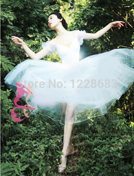 Cheap Ballet, Buy Directly from China Suppliers: Free Shipping New 2015 Kids Women Romantic Fairy Balet Ballerina Dress Adult Long Tutu Ballet Lyrical Dress