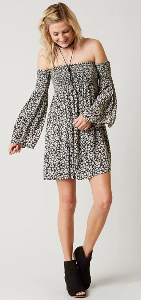 Neutral Boho Dresses : Billabong Night Fox Dress   Buckle