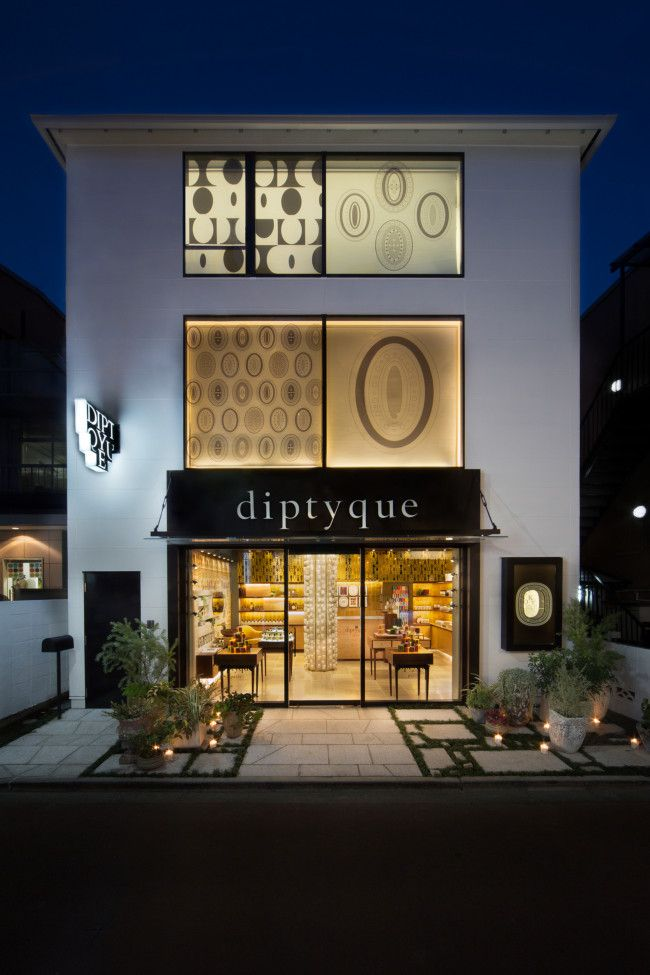 "fragrance brand's flagship store | ""diptyque"" 