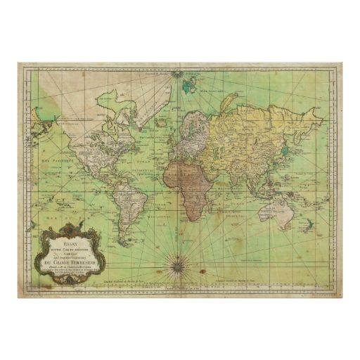 35 best old maps wallpapers images on pinterest maps antique maps 1778 bellin nautical chart or map of the world gumiabroncs Images