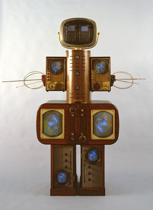 Nam June Paik: Becoming Robot at the Asia Society Museum.