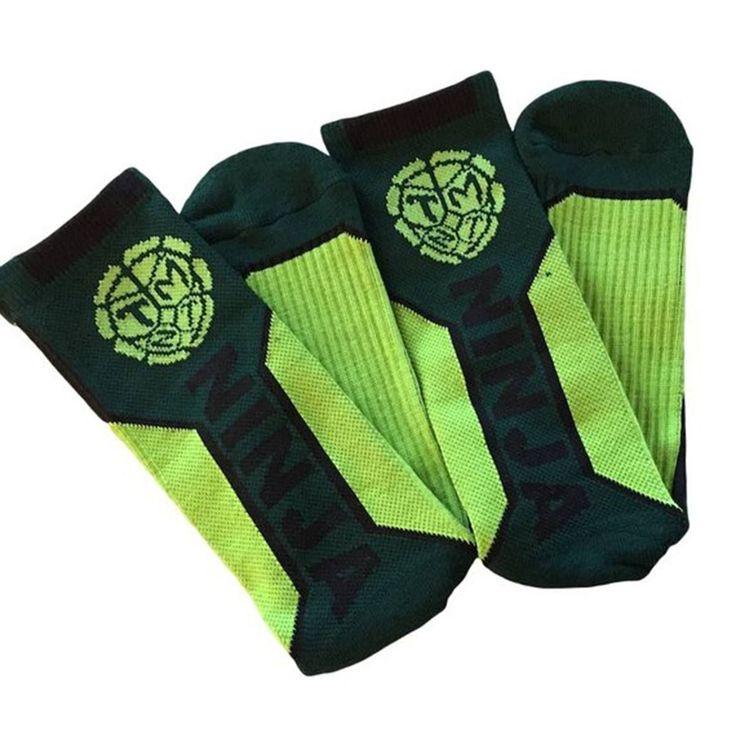 Socks - Teenage Mutant Ninja Turtles Text Active Crew Socks