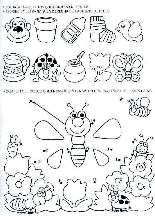 Letramania 1 Preschool activities, Preschool lessons