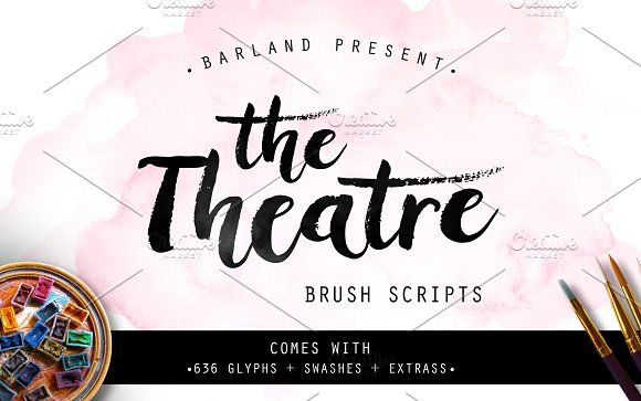 The Theatre Brush - 50% OFF by Barland on @creativemarket