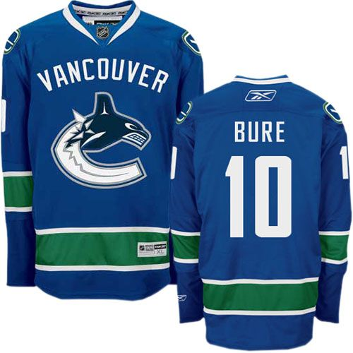 Vancouver Canucks 10 Pavel Bure Home Jersey - Royal Blue