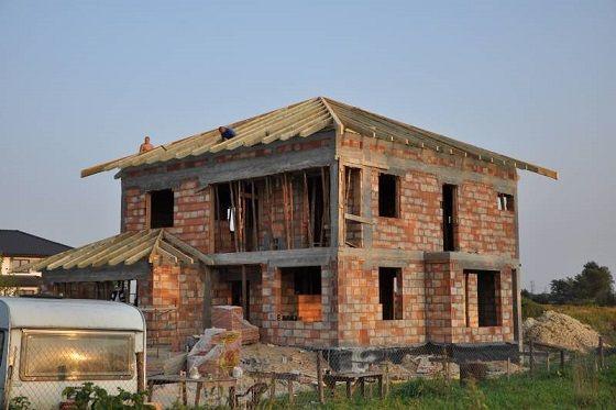 Projekt domu Opal stan surowy  #budowa #projekt #dom