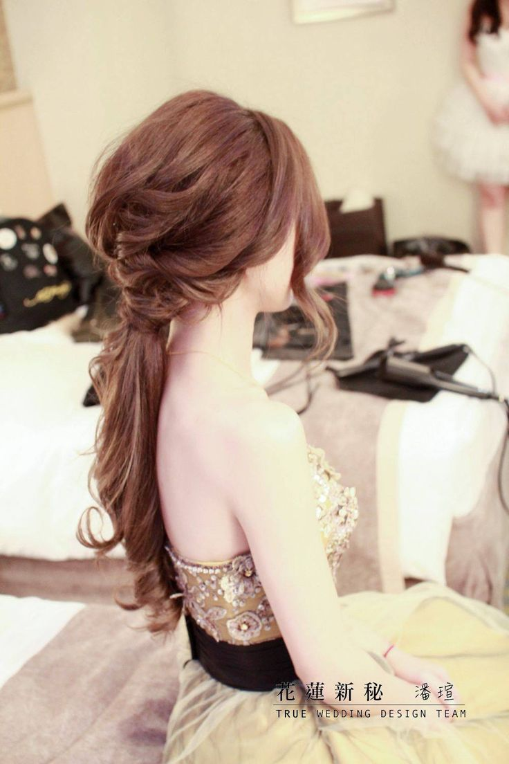 Make-up & Hairstyles:潘瑄│TRUE wedding design team│Hualien, Taiwan http://www.wetrue.com.tw/true/