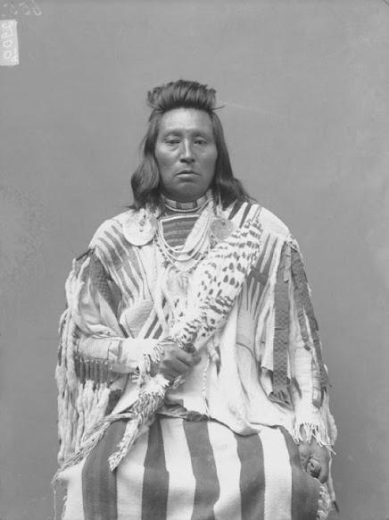 Harlish Washshomake ,Wolf Necklace, Palouse,1890