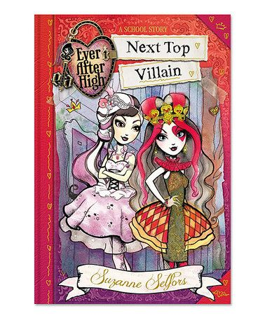 This Ever After High: Next Top Villain Hardcover by Ever After High is perfect! #zulilyfinds