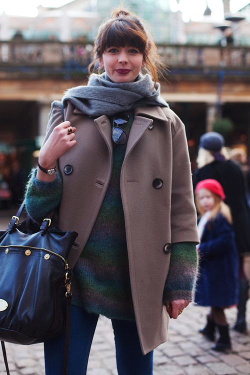 winter street style- Mulberry Bag