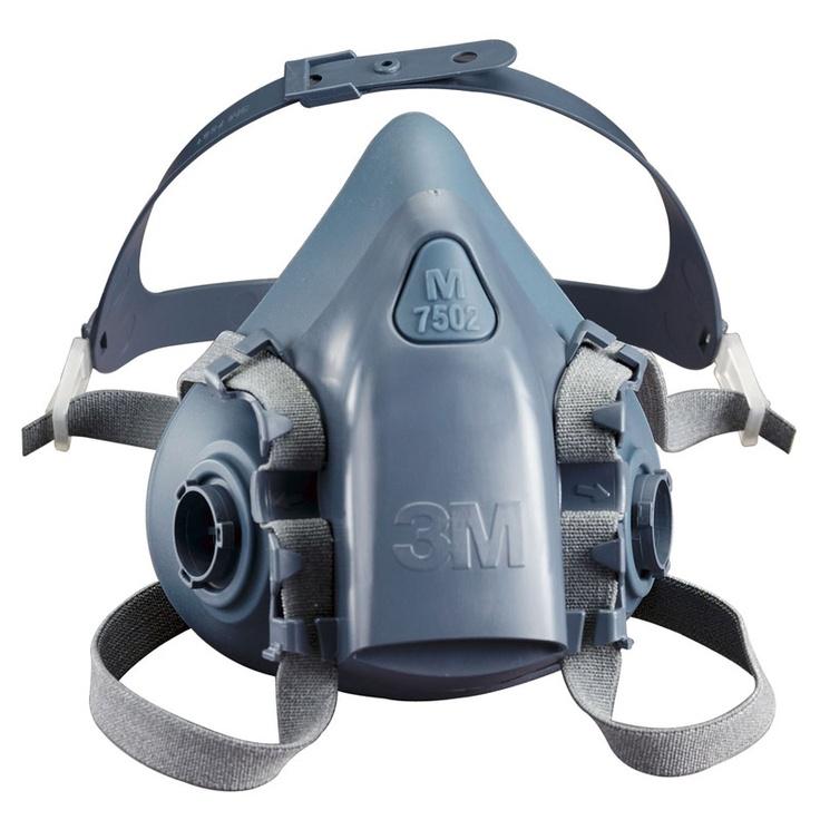 3M 7500 series respirator review Half mask, Half face