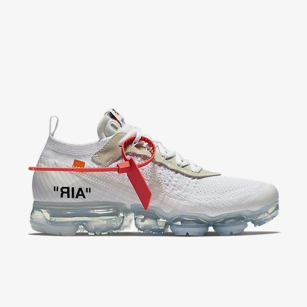 official lace up in free delivery Off-White x Nike Air Vapormax White | Designer sneakers mens, Nike ...
