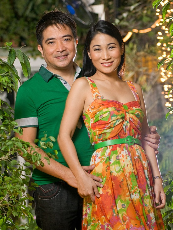 My pictorial with Mrs. Philippines 2009 Camilla Kim and her husband.