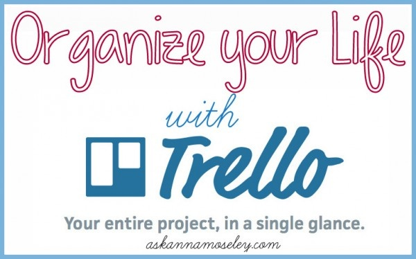 Organize you life and schedule with this online program, it's SO easy to use! -- Ask Anna