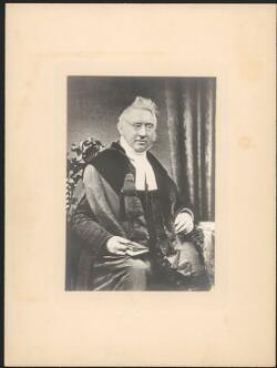 Rev. John Dunmore Lang. National Library of Australia PIC Box PIC/6967 #PIC/6967/nla.obj-136688180