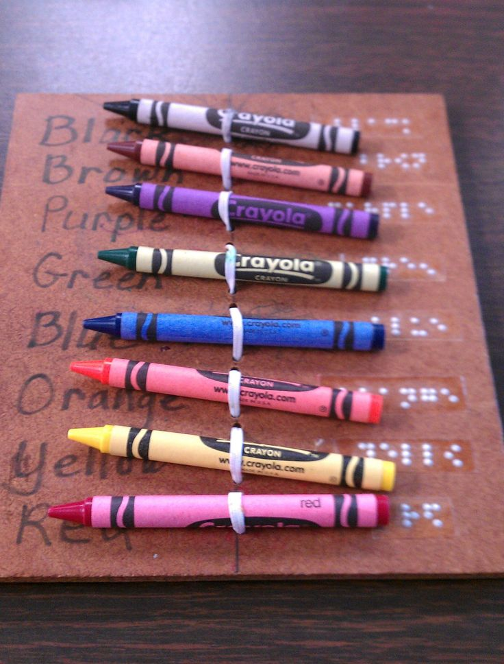 Take advantage of children's curiosity and braille the objects they value most. *repinned by wonder baby.org