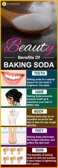 Baking soda can give you Clear skin