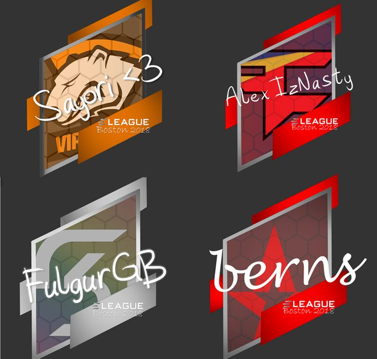 [FREE] Making CUSTOM HIGH RESOLUTION ELEAGUE Boston 2018 Major Autograph STICKERS!   Request for any name and team in the comments!