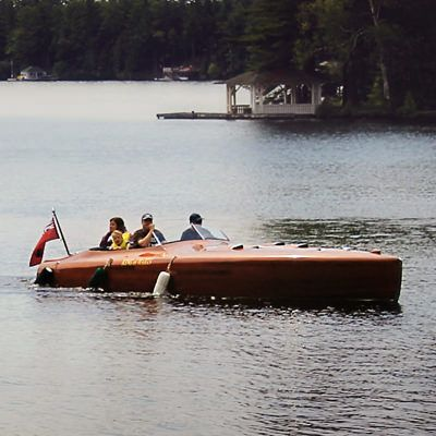 """Have you ever had the opportunity to take a ride on any of the Muskoka Lakes in a Woody?  If not, it should definitely go on your """"Muskoka Bucket List"""""""