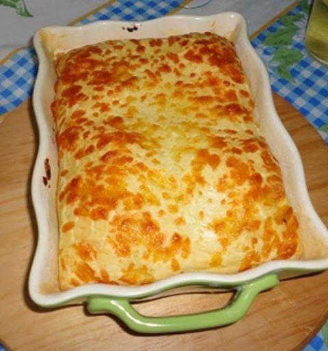 Torta Prática Salgada - Dinner pie - easy