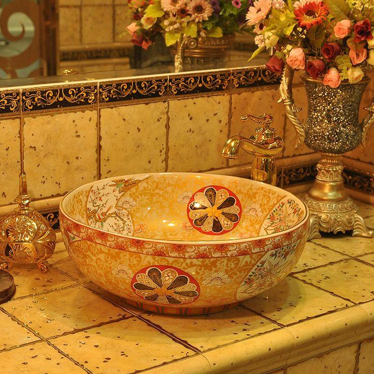 мода и великолепный умывальник умывальник счетчик бассейна белый ванной раковины, принадлежащий категории Запчасти для ванных и относящийся ...