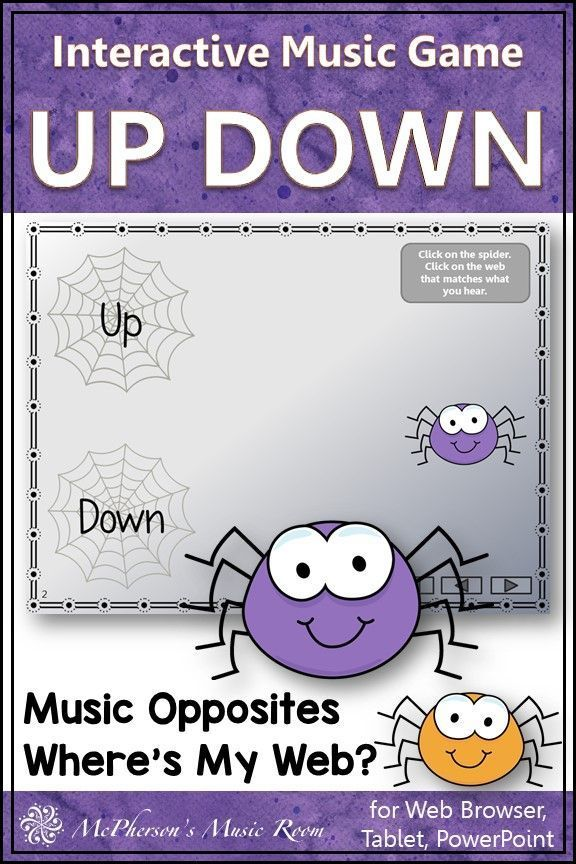 Melodic Direction: Up Down Interactive Music Game {Web} | Music