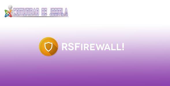 Rsfirewall! v2.9.5 joomla J3x.