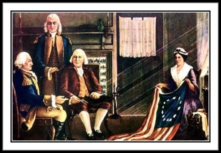 Who Really Made the First American Flag?