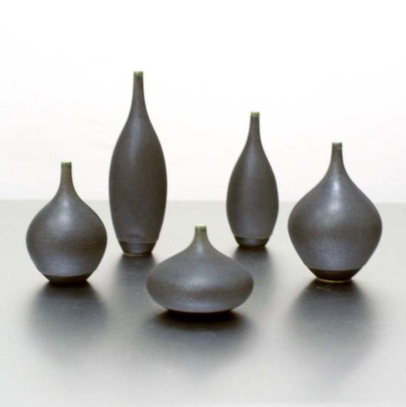 5 Tiny Slate Bottles by sarapaloma on Etsy, $150.00: Beautiful Collection, Slate Bottle, Tiny Slate, Style Interesting