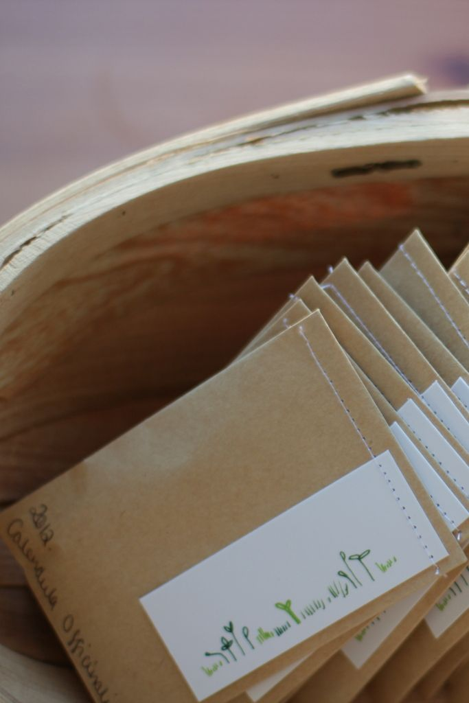 Seed Packets for Seedy Sunday