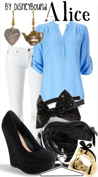 Alice casual (minus the shoes), totally cute!