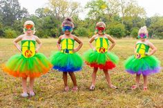 Teenage Mutant Ninja Turtle Inspired Halloween Birthday Tutu Dresses by ZoesBowtique7 on Etsy