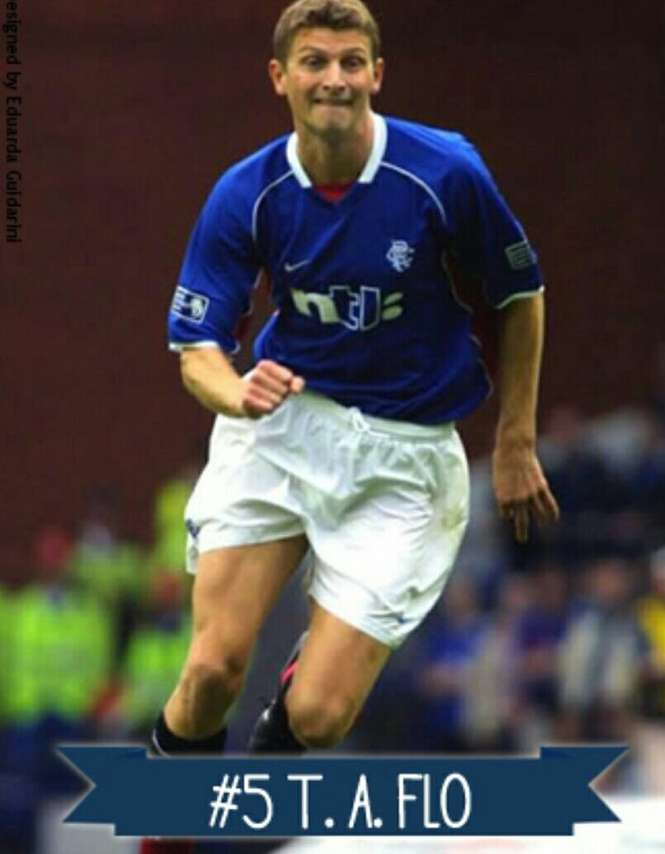 Tore Andre Flo of Rangers & Norway in 2000.