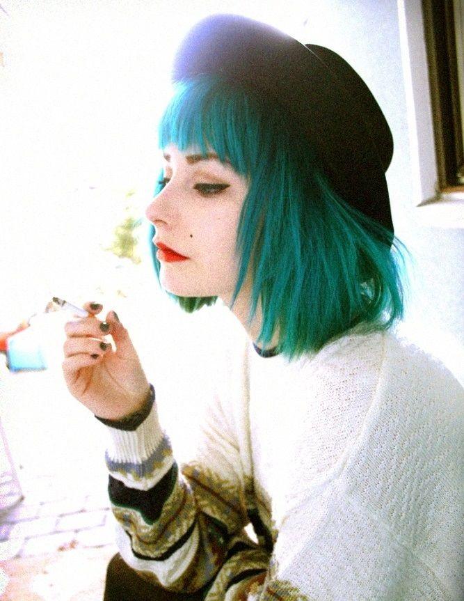 Зеленые волосы | Как покрасить волосы в зеленый цвет