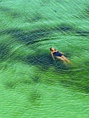 Blue Lagoon - Lençóis Maranhenses National Park - Barreirinhas, Maranhão