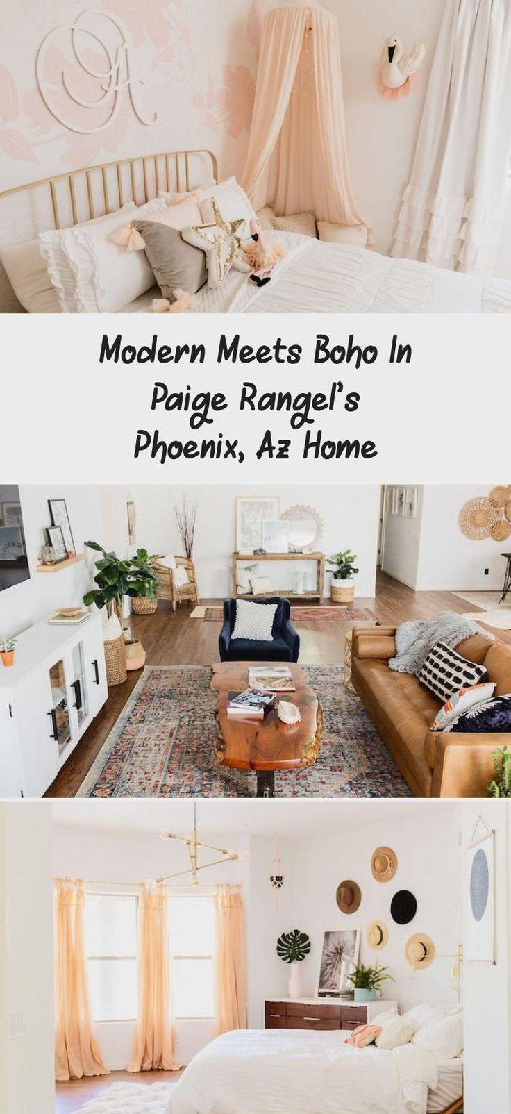 Modern Meets Boho In Paige Rangel's Phoenix, Az Home