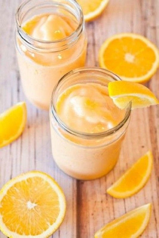 ¡#Batido de #PROTEICO de naranja para subir de peso!