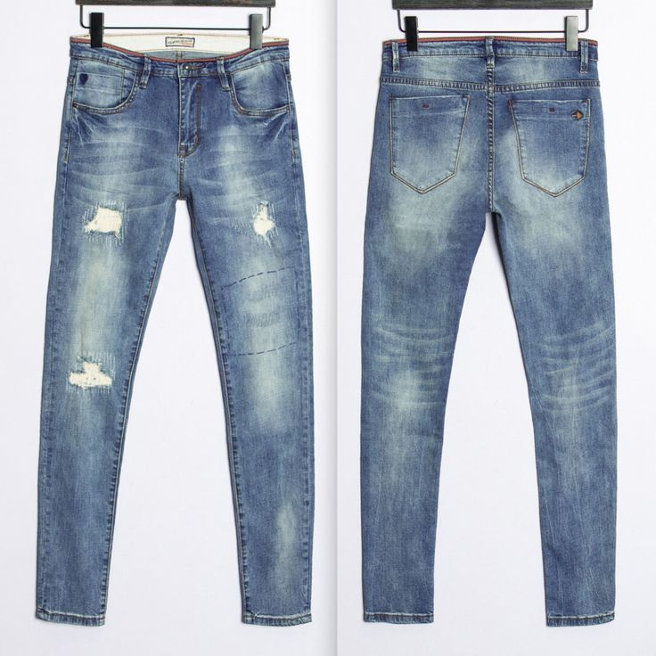 Jeans Herrenhose Pantalon Jean Homme Men Brand Pants Casual